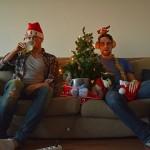 Hans Klis en Melvin Captein keken voor VICE de allerslechtste kerstfilms ooit. Foto Melvin Captein
